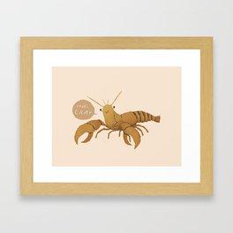 cray Framed Art Print
