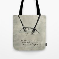 shakespeare Tote Bags featuring Macbeth - Shakespeare by pennyprintables