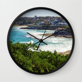 Sydney Coastline Wall Clock