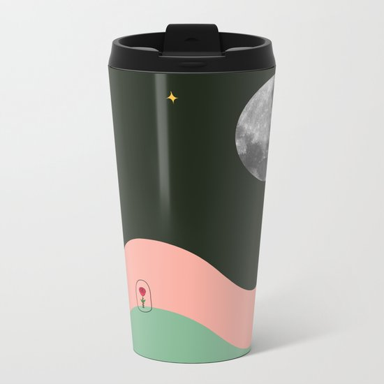 My Rose Metal Travel Mug
