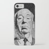 hitchcock iPhone & iPod Cases featuring Fingerprint - Hitchcock by Nicolas Jolly