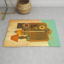 RECORD ROOM Rug