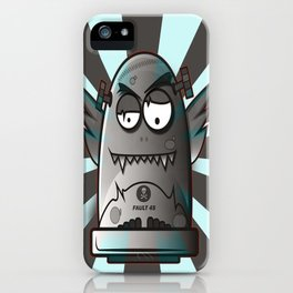 Fault 45 03 (its not his fault) iPhone Case