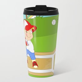 Non Olympic Sports: Baseball Travel Mug
