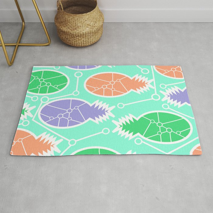 Pinele Network Rug By Cocodes