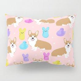 Corgi peeps easter marshmallow spring traditions dog breed welsh corgi Pillow Sham