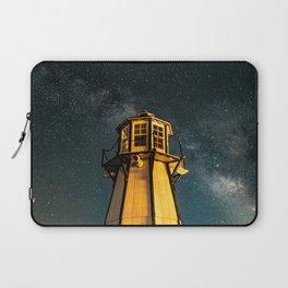 Mountain Light House Two Laptop Sleeve