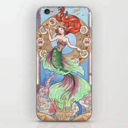 Every Girl Is A Princes 01: Andersen's The Little Mermaid iPhone Skin