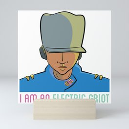 I am an Electric Griot Mini Art Print
