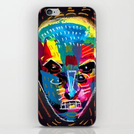 head 001 iPhone Skin