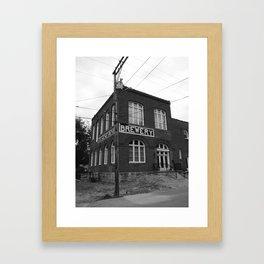 brewery Framed Art Print