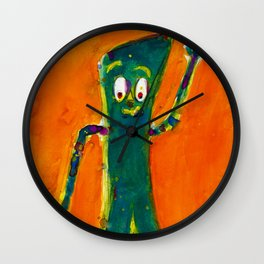 Gumby Wall Clock