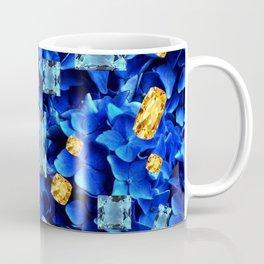 SEPTEMBER BLUE & CHAMPAGNE TOPAZ GEMS BIRTHSTONE ART Coffee Mug