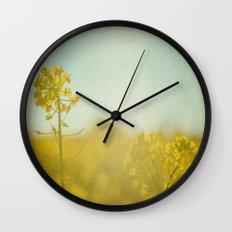 Spring Sun Wall Clock
