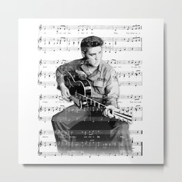 "Elvis ""My Way"" Metal Print"