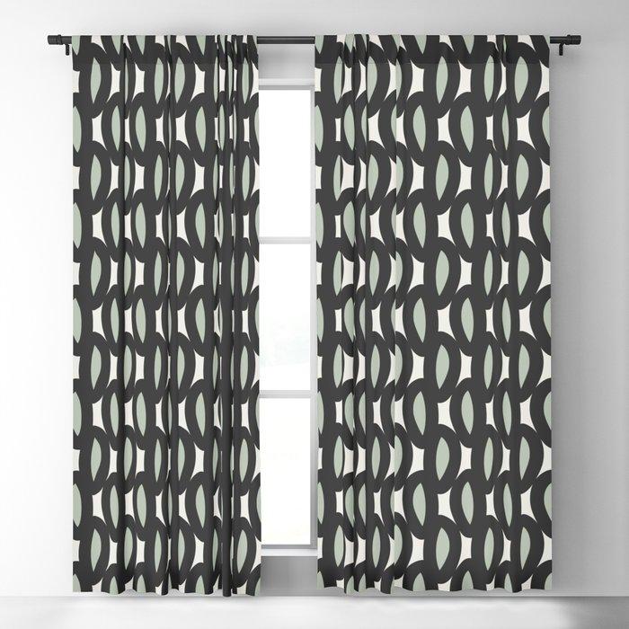 geo six-celadon Blackout Curtain