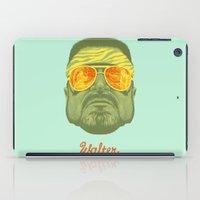 lebowski iPad Cases featuring The Lebowski Series: Walter by Bubblegun