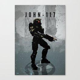 Legends of Gaming - John 117 Canvas Print