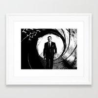 skyfall Framed Art Prints featuring Skyfall by Rik Reimert