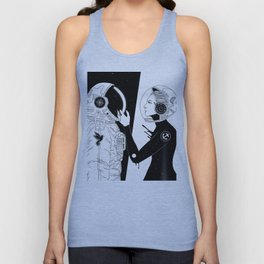 I Found a Space for Us Unisex Tank Top