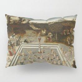 Lucas Cranach Der Jungbrunnen Fountain Of Youth Pillow Sham