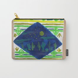 Patterned Desert Rug Carry-All Pouch