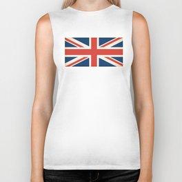 Union Jack UK Flag Biker Tank
