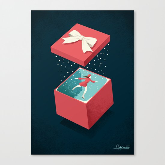 Wishing Canvas Print