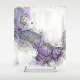 Study in Purple Shower Curtain