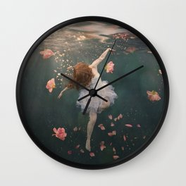 Rosewater Wall Clock