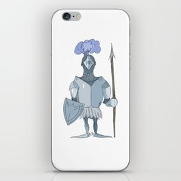knight iPhone Skin