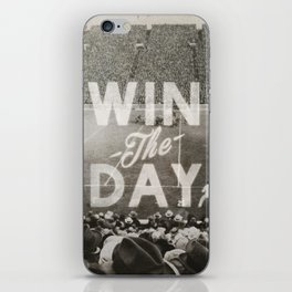 Win the Day iPhone Skin