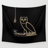 radio Wall Tapestries featuring OVOsound Radio by October's Very Own