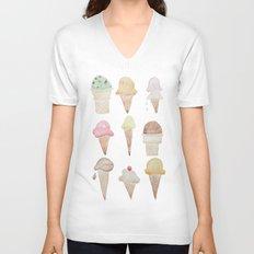Ice Cream Paint Job Unisex V-Neck
