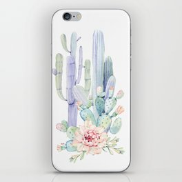Mixed Cacti 2 #society6 #buyart iPhone Skin