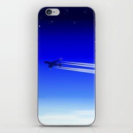 Jet Heading Home iPhone Skin