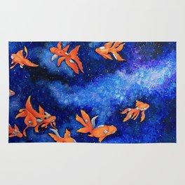 Space Goldfish Rug