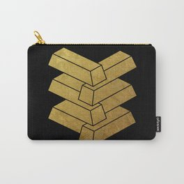 illusory (Black) Carry-All Pouch