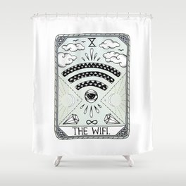 The Wifi Shower Curtain