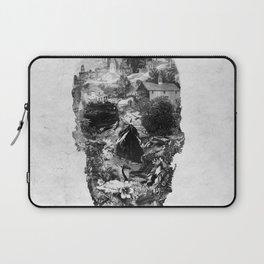 Town Skull B&W Laptop Sleeve