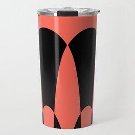 Black Elements Travel Mug