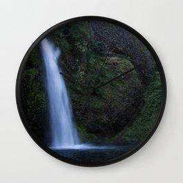 Horsetail Falls Wall Clock