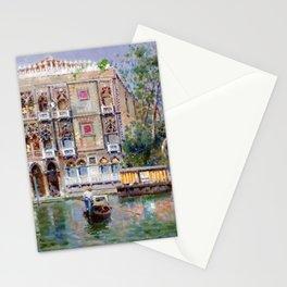 Palazzo Santa Sofia, Grand Canal, Venice Italy Landscape by Antonio Reyna Manescau Stationery Cards