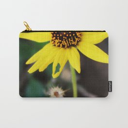 Yellow Wild Flower Carry-All Pouch