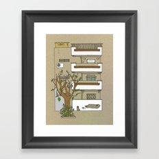 Building nr1 Framed Art Print