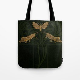 Art Nouveau Insects Tote Bag