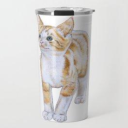 Adorable Kitten Travel Mug