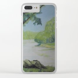 Our Green Place Clear iPhone Case
