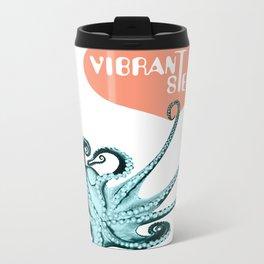 Vibrant Stereo #2 Metal Travel Mug