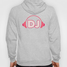 DJ Headphones Rave Quote Hoody